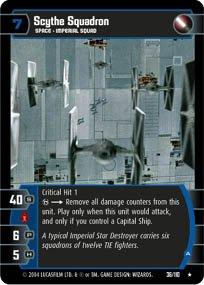 #36 Scythe Squadron (A) (RotJ rare) Star Wars TCG