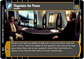 #21 Negotiate the Peace (TPM rare)