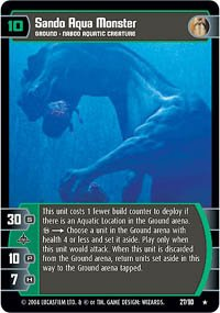 #27 Sando Aqua Monster (TPM rare)