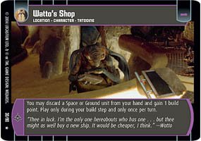 #30 Watto's Shop (TPM rare)