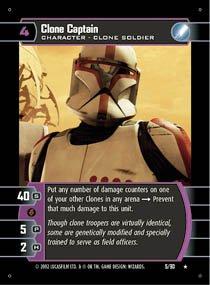 #5 Clone Captain (SR rare)