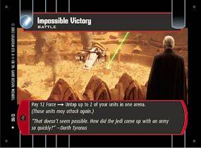 #12 Impossible Victory (SR rare)