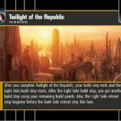 #28 Twilight of the Republic (SR rare)