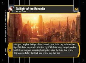#28 Twilight of the Republic (SR rare)