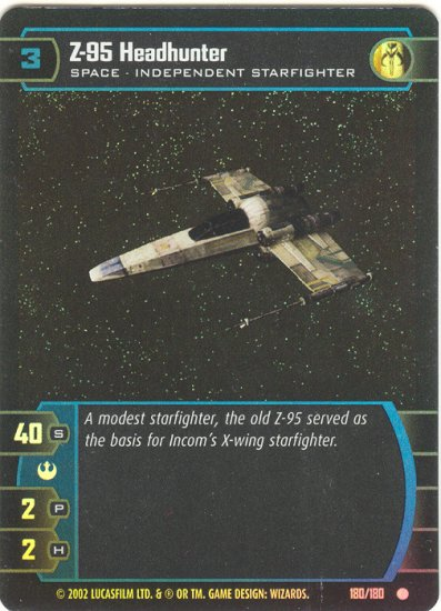 #180 Z-95 Headhunter FOIL ANH