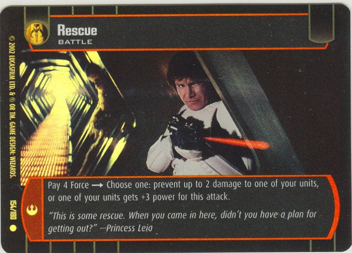 #154 Rescue FOIL ANH