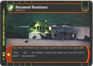 #61 Astromech Assistance FOIL ANH
