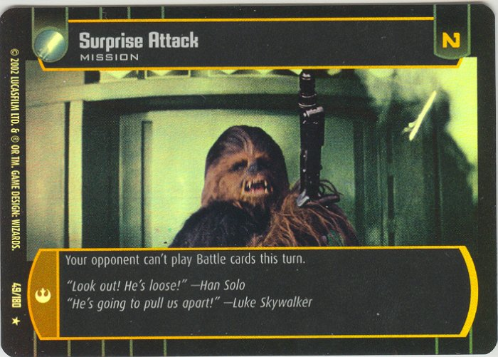 #49 Surprise Attack FOIL ANH