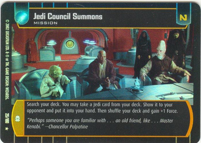 #025 Jedi Council Summons FOIL AOTC