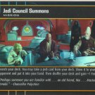 #025 Jedi Council Summons FOIL AOTC