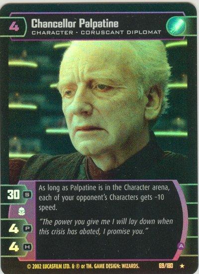 #069 Chancellor Palpatine (A) FOIL AOTC