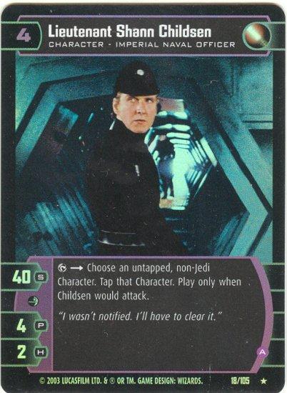 #18 Lieutenant Shann Childsen (A) FOIL