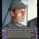 #2 Admiral Firmus Piett (B) (ESB rare) Star Wars TCG