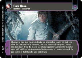 #14 Dark Cave (ESB rare) Star Wars TCG