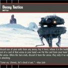#17 Decoy Tactics (ESB rare) Star Wars TCG