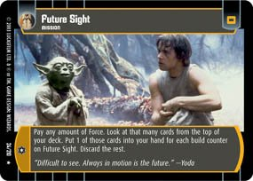 #24 Future Sight (ESB rare) Star Wars TCG
