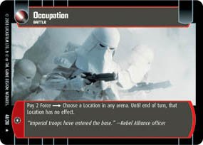 #49 Occupation (ESB rare) Star Wars TCG
