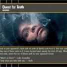 #53 Quest for Truth (ESB rare) Star Wars TCG