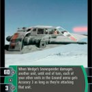 #65 Wedge's Snowspeeder (ESB rare) Star Wars TCG