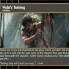 #69 Yoda's Training (ESB rare) Star Wars TCG