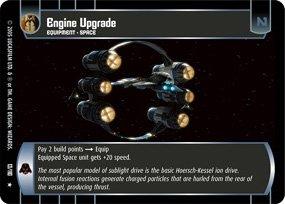#13 Engine Upgrade Star Wars TCG (ROTS rare)