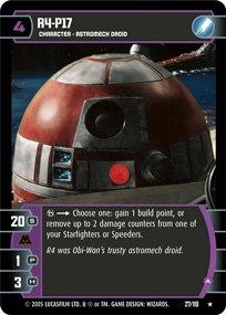 #27 R4-P17 (A) Star Wars TCG (ROTS rare)