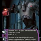 #36 Super Battle Droid 7EX Star Wars TCG (ROTS rare)