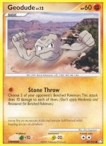 84 Geodude (Common Normal) Mysterious Treasures Pokemon TCG