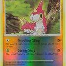 104 Wurmple (C) REVERSE FOIL Diamond and Pearl Pokemon TCG