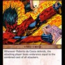 Roberto da Costa as Sunspot, Solar Flare (U) MEV-064 VS System TCG Marvel Evolutions