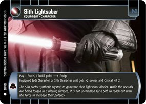 #101 Sith Lightsaber (ROTS common)