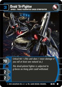 #86 Droid Tri-Fighter (ROTS common)