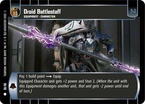 #85 Droid Battlestaff (ROTS common)
