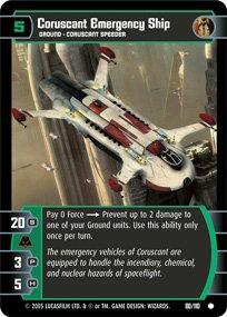 #80 Coruscant Emergency Ship (ROTS common)