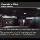 #44 Chancellor's Office Star Wars TCG (ROTS uncommon)