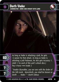 #48 Darth Vader (Q) (ROTS uncommon)