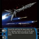 #50 Droid Missiles Star Wars TCG (ROTS uncommon)