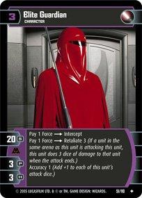 #51 Elite Guardian Star Wars TCG (ROTS uncommon)