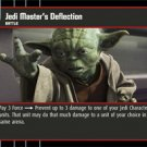 #54 Jedi Master's Deflection Star Wars TCG (ROTS uncommon)