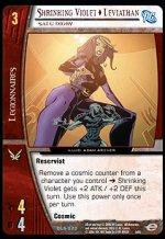 Shrinking Violet as Leviathan, Salu Digby (U) DLS-020 VS System TCG DC Legion of Superheroes