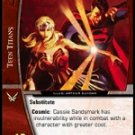 Cassie Sandsmark as Wonder Woman Titan's West (C) DLS-135 VS System TCG DC Legion of Superheroes