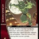 Jackal, Dr. Miles Warren (C) MSM-078 Web of Spiderman Marvel VS System TCG