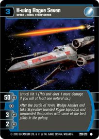 #209 X-Wing Rogue Seven (ESB common)