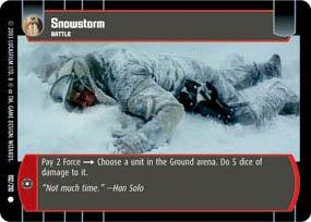 #192 Snowstorm TCG (ESB common)
