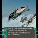#191 Snowspeeder Rogue Two TCG (ESB common)