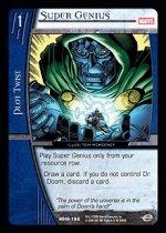 Super Genius (C) MHG-166 Marvel Heralds of Galactus VS System TCG