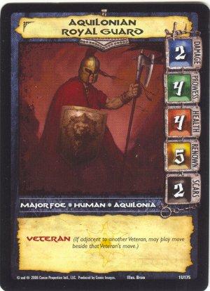 Aquilonian Royal Guard (U) Conan CCG