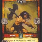 Axe Throw (U) Conan CCG