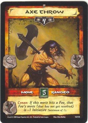 Axe Throw (U) Conan CCG