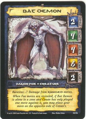 Bat Demon (U) Conan CCG